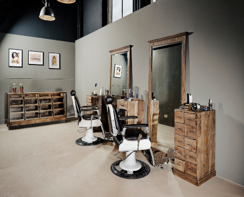 Barberstation | Barbershop interior | Barber salon | Beard salon | Barber chairs