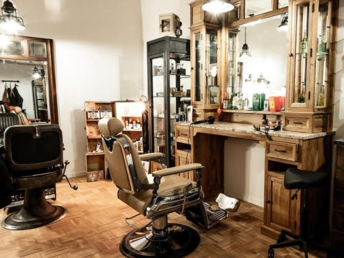 Classic barber workstations | Barber furniture | Solid wood | High quality | Handcrafted with pride | Restyle your barbershop with barber furniture | Worldwide delivery