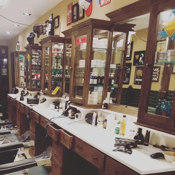Barbershop interior | Barber furniture | Furniture for barbershops | Barbershop opening | Worldwide delivery